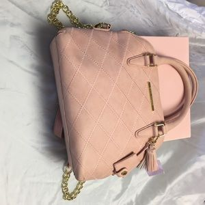 Steve Madden Bags - Steve Madden pink and gold purse